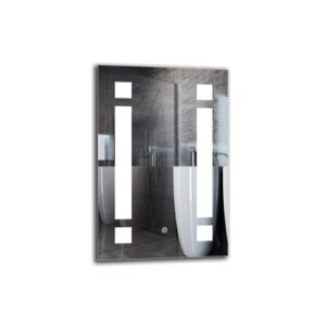Norazn Bathroom Mirror Metro Lane Size: 60cm H x 40cm W