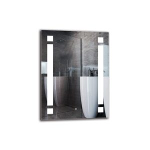 Norazn Bathroom Mirror Metro Lane Size: 80cm H x 60cm W