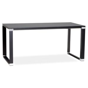 Nuneaton Desk Metro Lane Finish: Black