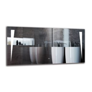 Ohan Bathroom Mirror Metro Lane Size: 60cm H x 120cm W