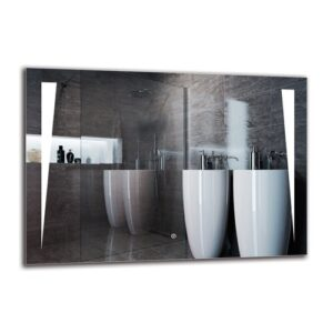 Ohan Bathroom Mirror Metro Lane Size: 70cm H x 100cm W
