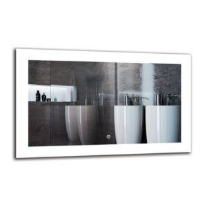 Oldcastle Bathroom Mirror Metro Lane Size: 50cm H x 80cm W