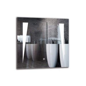 One Bathroom Mirror Metro Lane Size: 50cm H x 50cm W