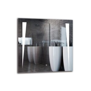 One Bathroom Mirror Metro Lane Size: 70cm H x 70cm W