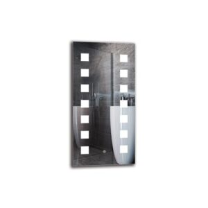 Paren Bathroom Mirror Metro Lane Size: 80cm H x 40cm W