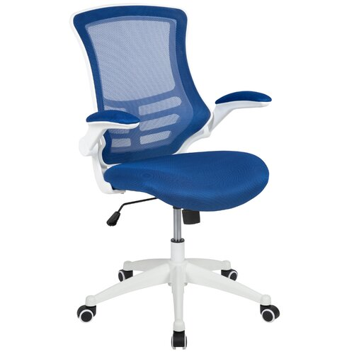 Pergande Ergonomic Mesh Desk Chair Blue Elephant
