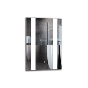 Rafayel Bathroom Mirror Metro Lane Size: 60cm H x 40cm W