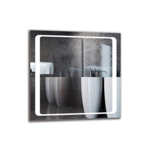 Rajveer Bathroom Mirror Metro Lane Size: 60cm H x 60cm W