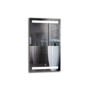 Razmig Bathroom Mirror Metro Lane Size: 70cm H x 40cm W