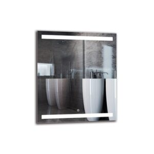 Razmig Bathroom Mirror Metro Lane Size: 70cm H x 60cm W