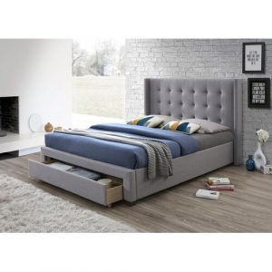 Rudolph Upholstered Storage Bed Brayden Studio Size: Double (4'6)