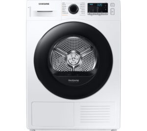 SAMSUNG DV80TA020AE/EU 8 kg Heat Pump Tumble Dryer - White, White