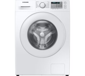 SAMSUNG ecobubble WW80TA046TH/EU 8 kg 1400 Spin Washing Machine - White, White