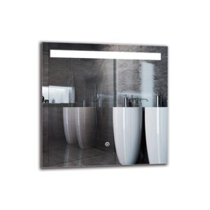 Sahrad Bathroom Mirror Metro Lane Size: 50cm H x 50cm W