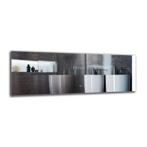 Saro Bathroom Mirror Metro Lane Size: 50cm H x 140cm W