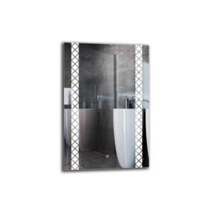 Sebuh Bathroom Mirror Metro Lane Size: 90cm H x 60cm W