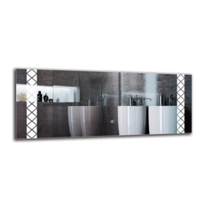 Serop Bathroom Mirror Metro Lane Size: 40cm H x 100cm W