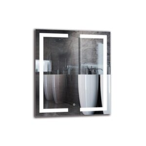 Shahnur Bathroom Mirror Metro Lane Size: 70cm H x 60cm W