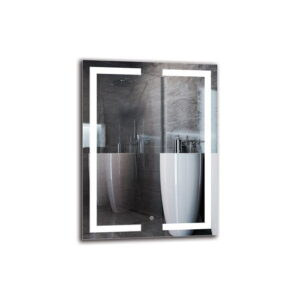 Shahnur Bathroom Mirror Metro Lane Size: 80cm H x 60cm W