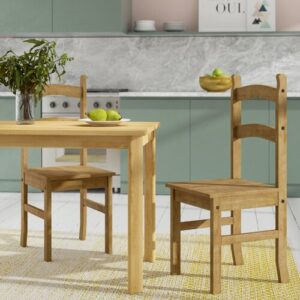 Solid Wood Dining Chair (Set of 2) Home & Haus