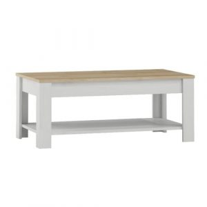 Stonehaven Coffee Table with Storage Breakwater Bay