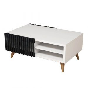 Tamela Coffee Table with Storage Mercury Row
