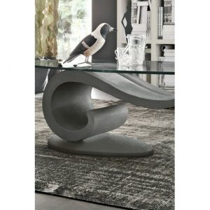 Thresher Coffee Table Wade Logan Table top edges: Polished edges, Frame colour: Anthracite