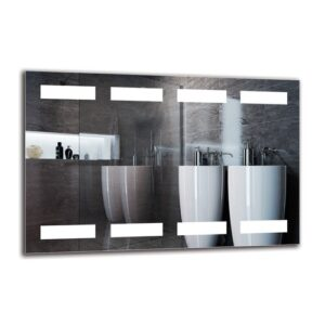 Tiegan Bathroom Mirror Metro Lane Size: 40cm H x 60cm W