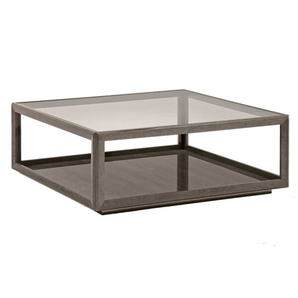 Tigbourne Square Coffee Table, Silver Birch