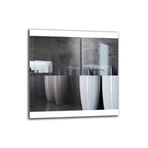 Truong Bathroom Mirror Metro Lane Size: 70cm H x 70cm W