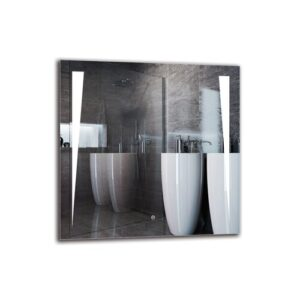 Wabasha Bathroom Mirror Metro Lane Size: 80cm H x 80cm W