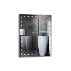 Willapa Bathroom Mirror Metro Lane Size: 80cm H x 60cm W