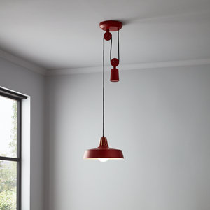 Yarra Matt Red Pendant ceiling light