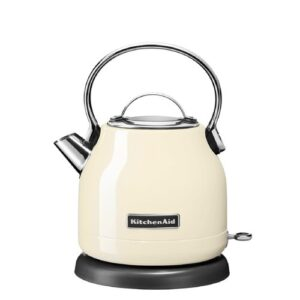 1.25L Stainless Steel Electric Kettle KitchenAid Colour: Almond Cream