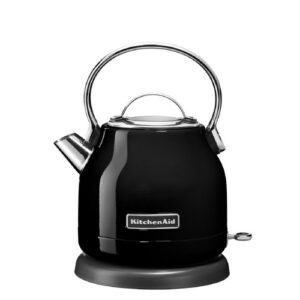1.25L Stainless Steel Electric Kettle KitchenAid Colour: Onyx Black