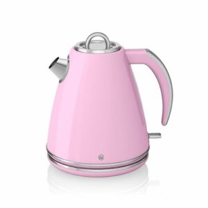 1.5 L Stainless Steel Electric Kettle Swan Colour: Pink