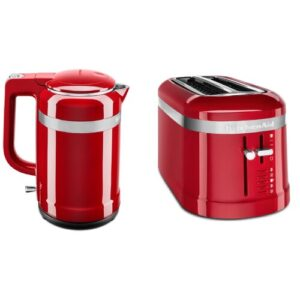1.5L Electric Kettle and 4 Slice Toaster Set KitchenAid Colour: Empire Red