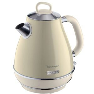 1.7L Stainless Steel Electric Kettle Ariete Colour: Cream