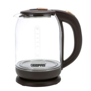 1.8L Glass Electric Kettle Geepas