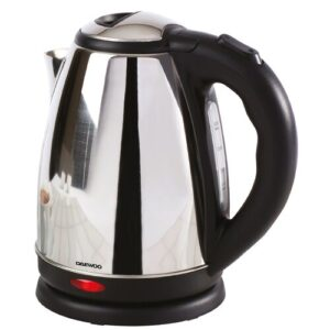 1.8L Stainless Steel Electric Kettle Daewoo Colour: Polished Steel