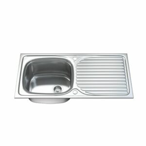 100cm x 50cm Stainless Steel Kitchen Sink Dihl