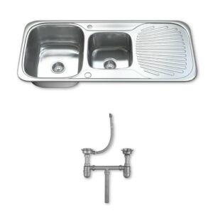 108cm x 48cm Kitchen Sink Dihl