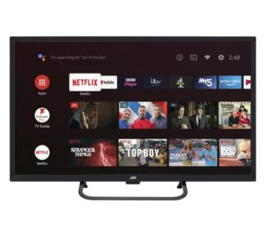 """32"""" JVC LT-32CA690 Android TV Smart HD Ready LED TV with Google Assistant"""