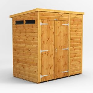 4 ft. W x 6 ft. D Solid Wood Garden Shed WFX Utility