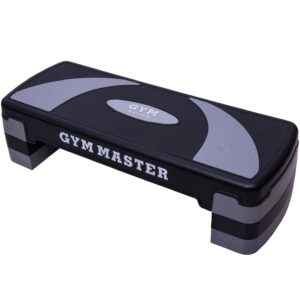 (5 Level) Gym Master Adjustable Fitness Step | Home Exercise Cardio & Aerobic Step