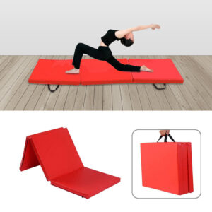 6FT Gymnastic Exercise Tri Folding Mat 50MM Thick Yoga Gymnastic Mat