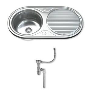 84cm x 44cm Kitchen Sink Dihl