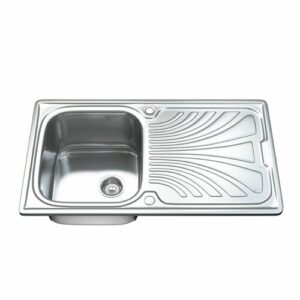 86cm x 50cm Inset Kitchen Sink Dihl