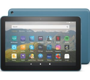 AMAZON Fire HD 8 Tablet (2020) - 32 GB, Blue, Blue