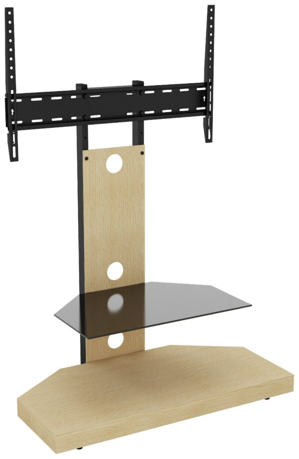 AVF Wood Effect Mount Up To 60 Inch TV Stand - Oak